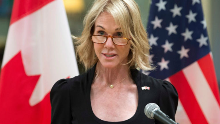 Donald Trump nomme la diplomate Kelly Knight Craft ambassadrice des Etats-Unis à l'ONU