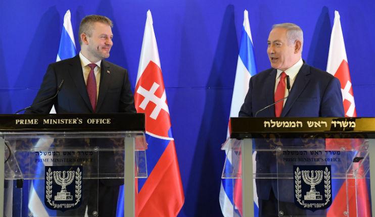 Le groupe Visegrad témoigne «son amitié» à Israël