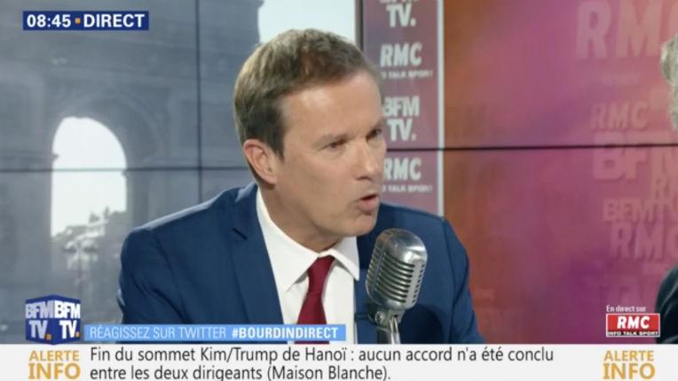 Nicolas Dupont-Aignan s'oppose au retour des jihadistes  «ils ne sont plus français, ils restent là-bas.» (Vidéo)