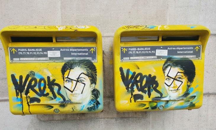 Paris : des portraits de Simone Veil tagués de croix gammées, la mairie porte plainte