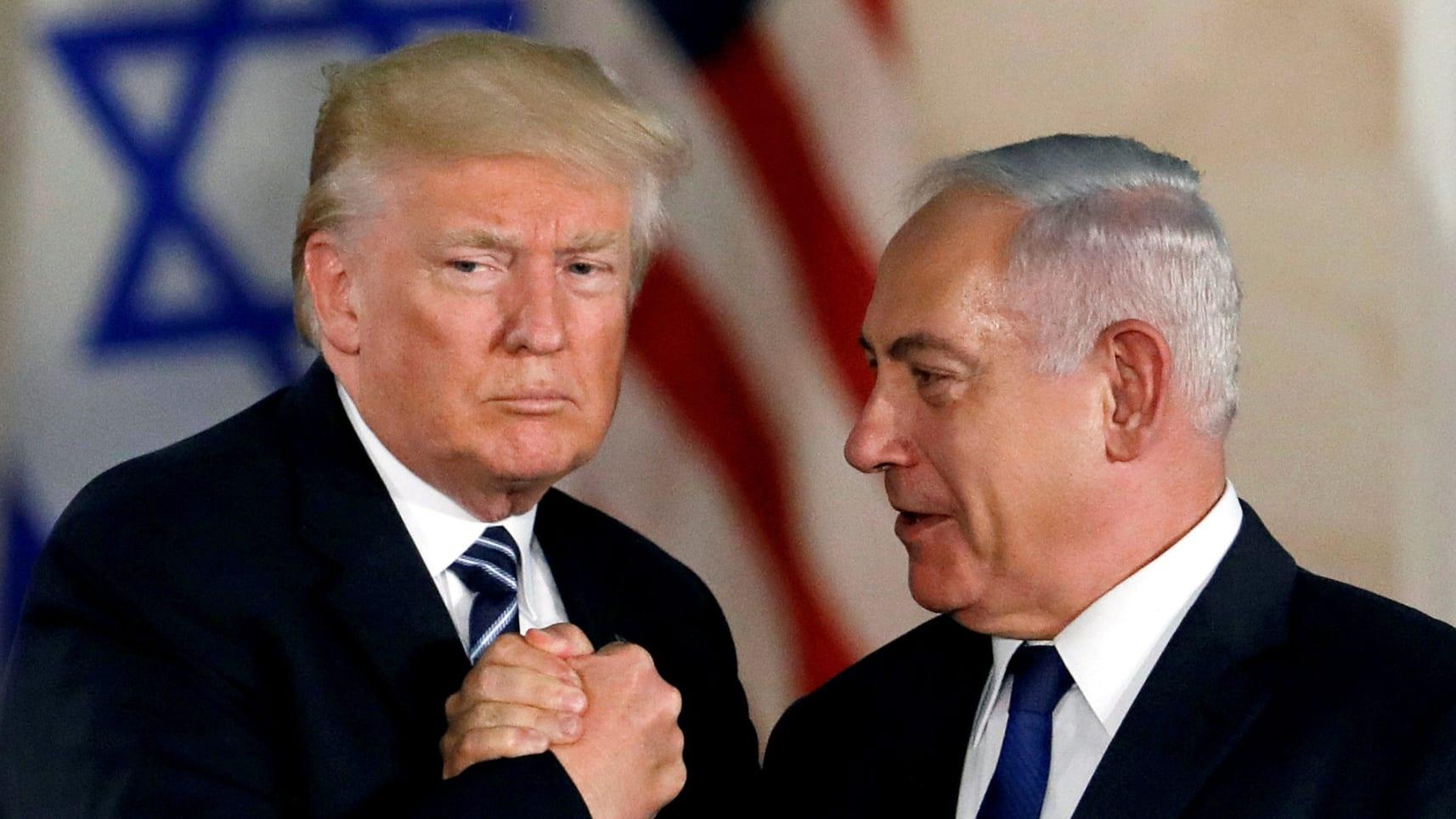 Trump et Netanyahu établiront un Etat palestinien après l'élection du 9 Avril en Israel