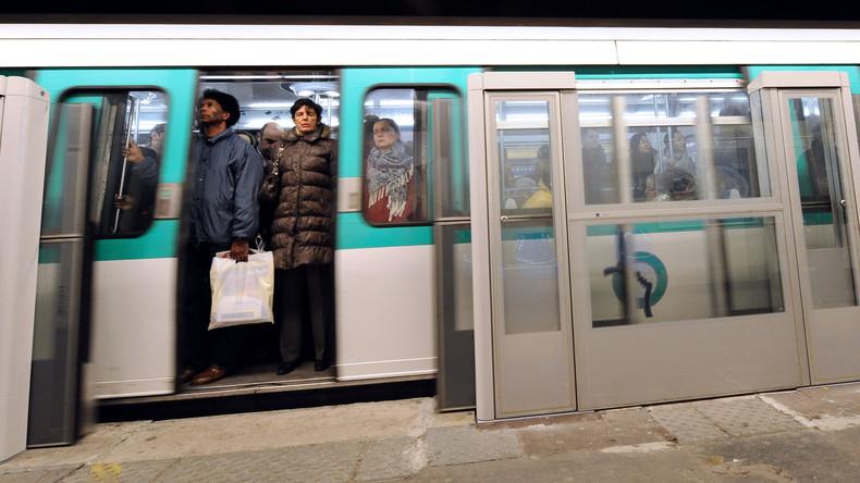 Attaque à l'acide dans le métro parisien : un jeune homme entre la vie et la mort