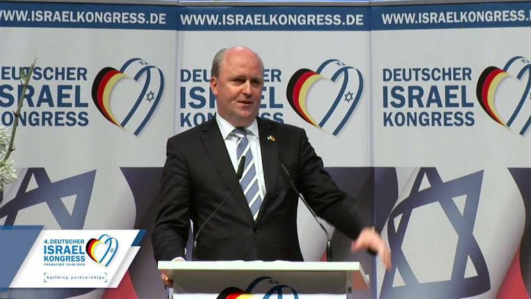 Uwe Becker, maire «Francfort est la ville la plus juive» et la plus pro-israélienne d'Allemagne