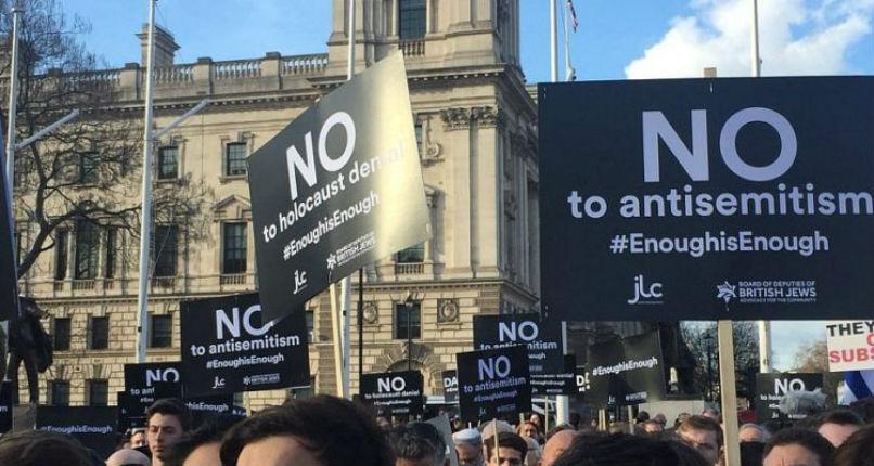 Selon un rapport, l'antisémitisme au Royaume-Uni atteint un chiffre record
