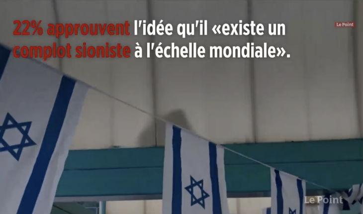 Complotisme : 22 % des Français pensent qu'il «existe un complot sioniste à l'échelle mondiale»