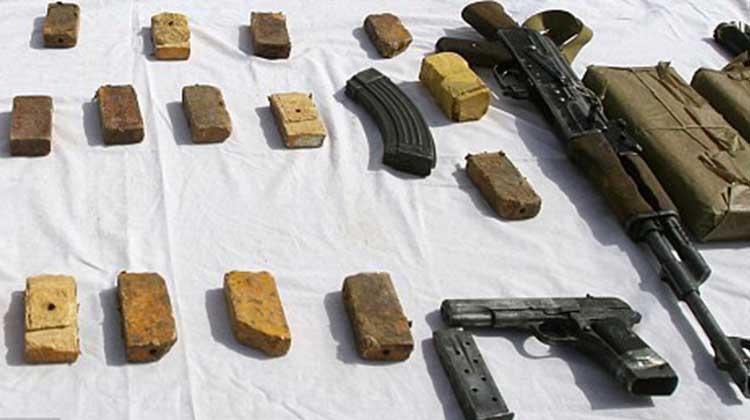 Clamart: un sac de TNT de 500 grammes et des armes retrouvés dans un parc public