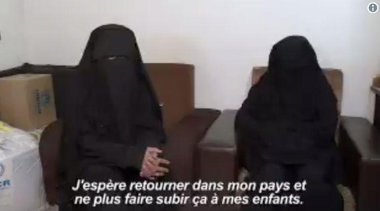 «On a un cœur, on a une âme» Deux Françaises détenues en Syrie souhaitent rentrer en France « sans sacrifier leur islam rigoriste » (Vidéo)