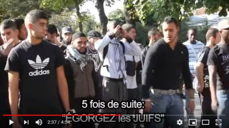 L'hypocrisie du pouvoir : Ni Flash-Ball, ni grenade, contre ceux qui hurlaient « Égorgez les Juifs » en plein Paris (Vidéo)