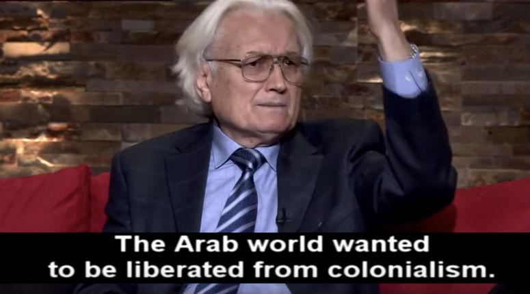 Le philosophe libanais Ali Harb : «Les Arabes sont sortis du Moyen-Age vers la modernité grâce au colonialisme» (Vidéo)