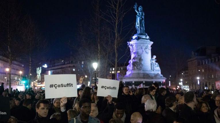 Antisémitisme : plusieurs rassemblements en France. Seulement 20 000 personnes à Paris…