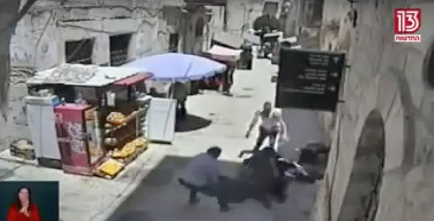 [Video] Jérusalem: deux juifs de Brooklyn sauvent la vie d'un soldat attaqué par un islamiste palestinien