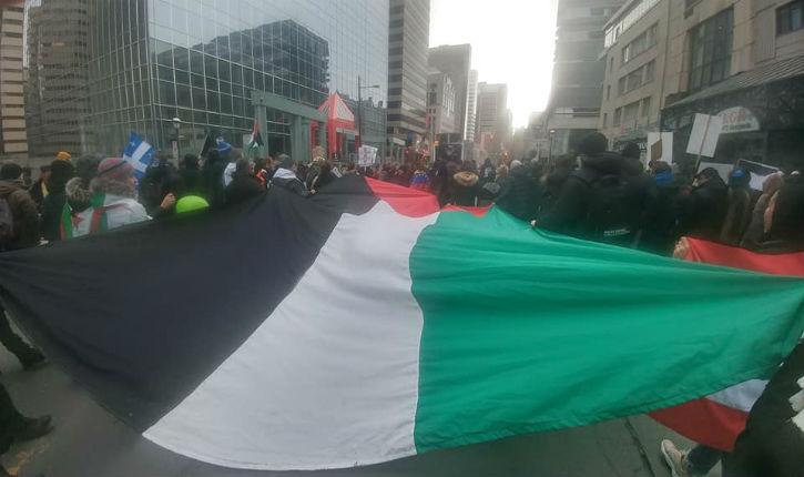 Montréal : une manifestation antiraciste se transforme en rassemblement anti-israélien