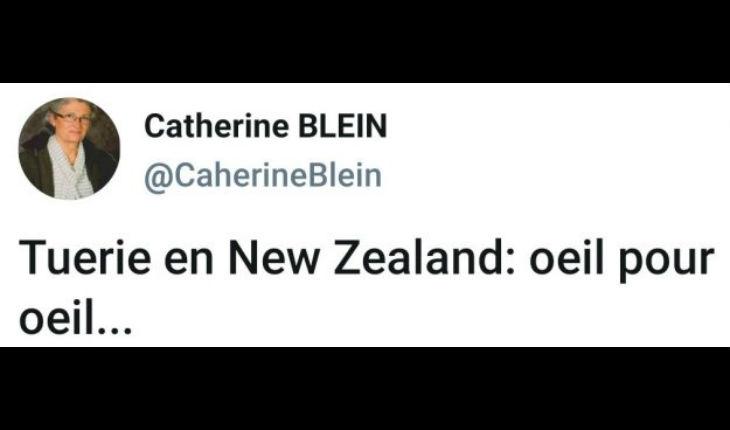 Attentat de Christchurch : C'est « oeil pour œil » pour la conseillère régionale Catherine Blein