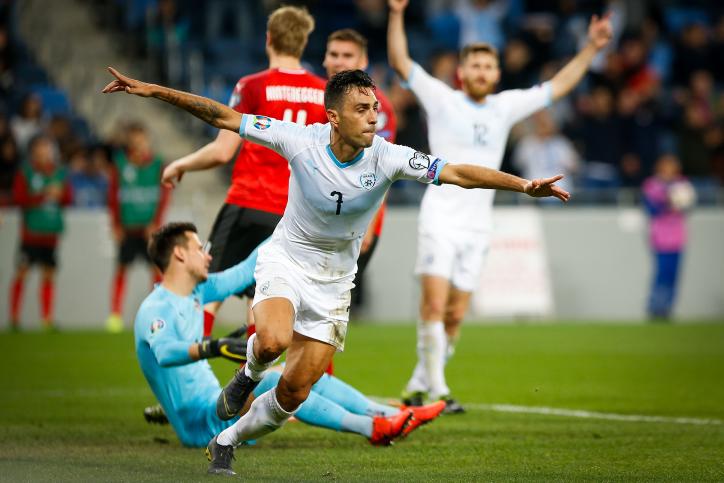 Euro 2020 : Israel bats l'Autriche 4 à 2