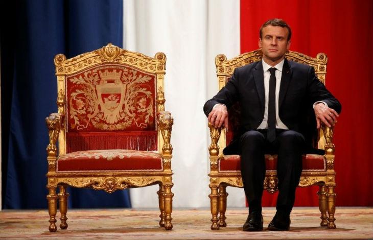 Le Financial Times, prestigieux journal financier britannique, accuse Macron d'être « sur la voie du despotisme »