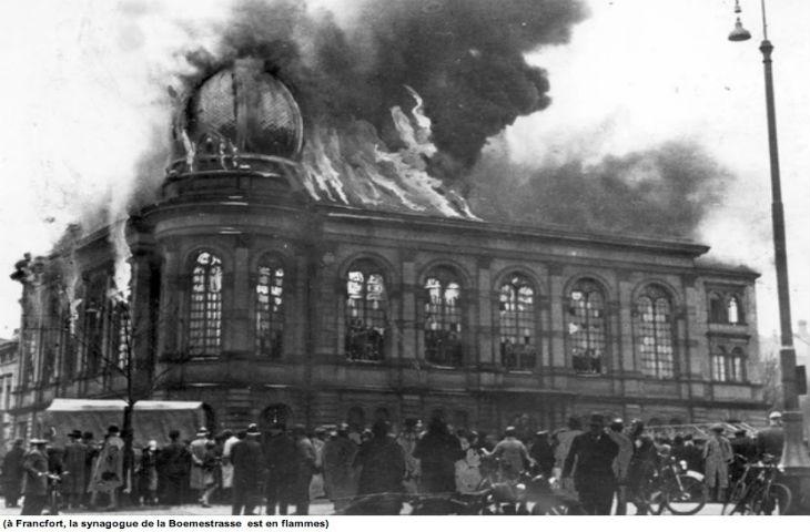 Nuit de Cristal, novembre 1938. Les démocraties: cris d'horreur mais inaction