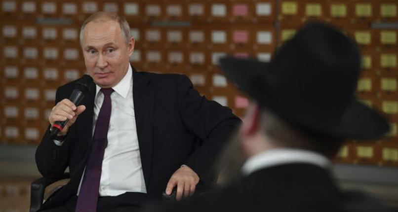 Blague de Poutine lors d'une rencontre «Alors, les Juifs ont des problèmes de finances ! Une telle chose ne se peut qu'en Crimée»