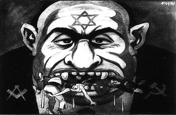 Antisémitisme : «Comment reconnaître un Juif» la Une d'un journal polonais antisémite alors qu'il n'y a plus de Juifs en Pologne