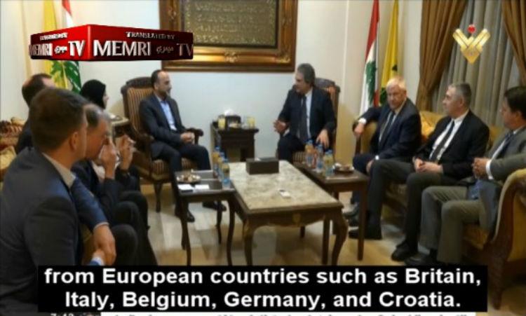 Une délégation de néonazis européens reçue par le Hezbollah à Beyrouth