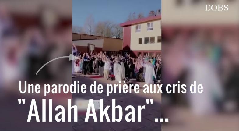 Des élèves belges se « déguisent » en Saoudiens, parodient les prières islamiques et suscitent l'indignation (Vidéo)