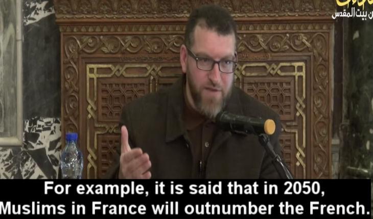 L'imam palestinien Abou Taqi Al-Din Al-Dari : « La France deviendra un pays islamique grâce au Jihad » (Vidéo)