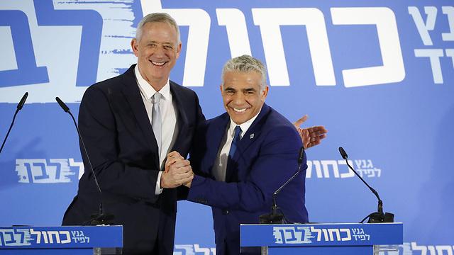 La campagne chaotique de Gantz-Lapid: une gauche en panique