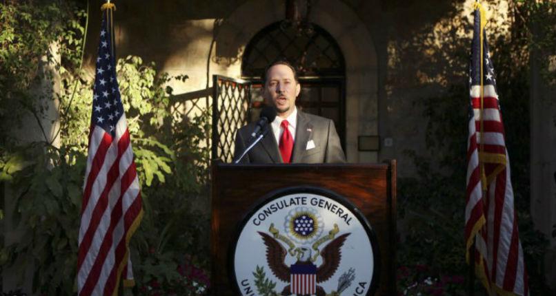 Les États-Unis ferment leur consulat de Jérusalem et le déclassent en mission palestinienne. Les dirigeants palestiniens veulent la boycotter