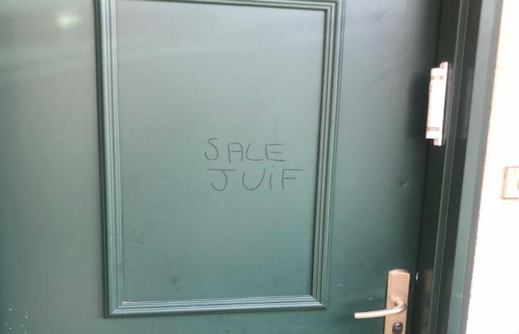 Tags antisémites : «Sale Juif» sur les murs d'un pavillon aux Lilas