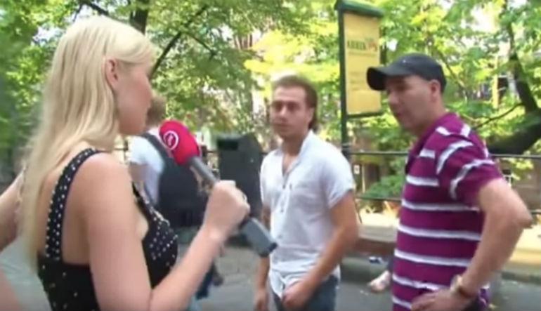 Utrecht : Le terroriste turc était apparu dans un reportage d'une chaine néerlandaise en 2011, il y qualifiait alors la présentatrice de « pute » et faisait référence à la charia (Vidéo)