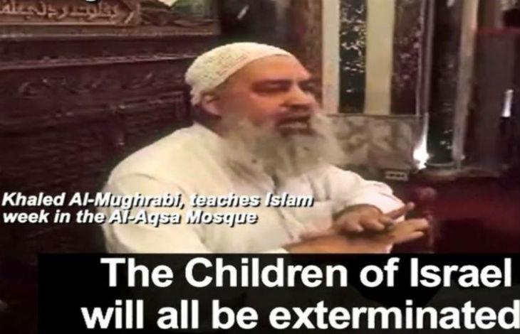 Clip à la télévision palestinienne «Attachez-vous à une ceinture d'explosifs, envoyez-les en enfer … Laissez le feu les brûler et les rôtir» (Vidéo)