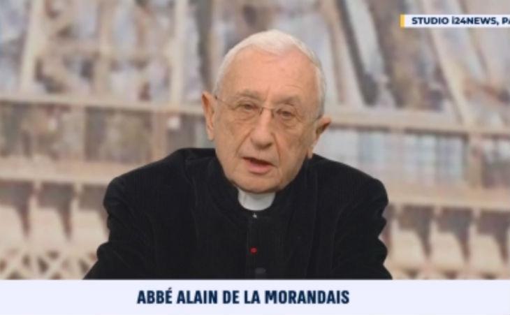 L'Abbé de la Morandais «Je me sens très proche du monde juif. Mon père est mort en camp de concentration parce qu'il sauvait des Juifs»