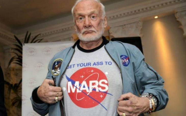 Buzz Aldrin «La tentative d'alunissage de la sonde israélienne est «une source d'inspiration pour tous»