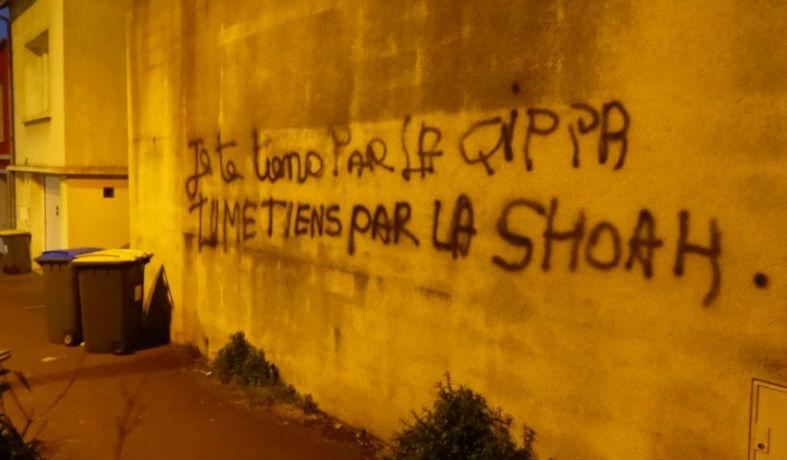 Cherbourg : un tag antisémite choque les passants avenue de Paris