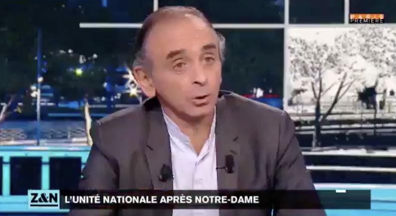Éric Zemmour dit tout haut ce que tout le monde pense : «S'il y a quelque chose prouvant que l'incendie de Notre-Dame est criminel, je pense qu'on le cachera» (Vidéo)