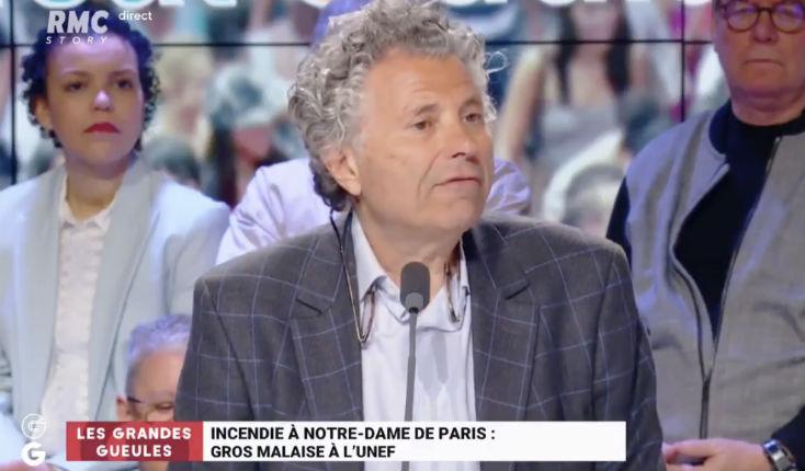 Gilles-William Goldnadel annonce qu'Avocats sans frontière engage des poursuites contre Hafsa Askar de l'UNEF pour ses propos suite à l'incendie de Notre-Dame (Vidéo)