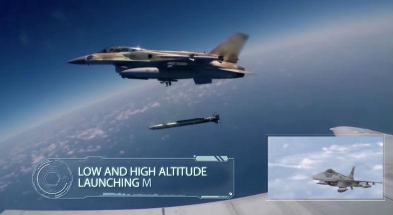 [Vidéo] Israël a utilisé de nouveaux missiles supersoniques pour échapper aux S-300 russes en Syrie