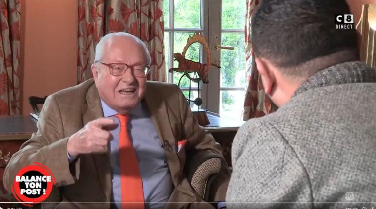 Papy Le Pen il est gentil : l'hallucinante «interview» par Cyril Hanouna du fondateur du FN