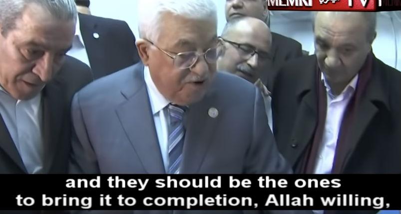 Mahmoud Abbas évoque les « chiens du Hamas qui devraient être jetés dans la poubelle de l'histoire » (Vidéo)
