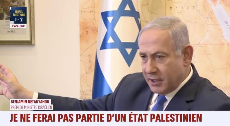 Interview de Netanyahu «La gauche veut faire des concessions dangereuses aux Palestiniens, dans l'espoir d'obtenir des relations avec le monde arabe, moi je fais exactement l'inverse»