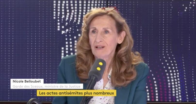 Nicole Belloubet : « On ne traite pas les plaintes antisémites de la même manière qu'une autre plainte » (Vidéo)