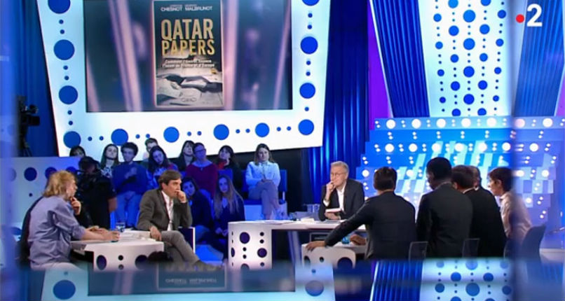 « Qatar Papers » : quand les «bobos» de «On est pas couché» défendent le Qatar et l'islamisation (Vidéo)