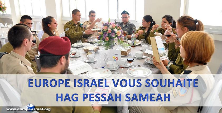 Europe Israël souhaite de joyeuses fêtes de Pessah à ses lecteurs juifs