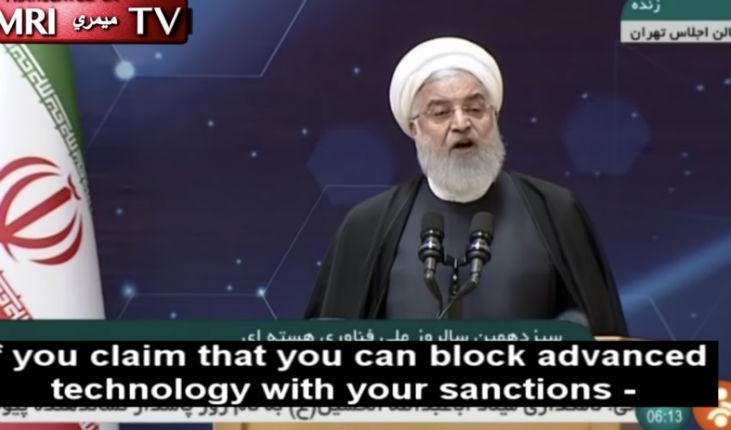 L'Iran se moque de Macron, des Européens et de l'accord nucléaire : le président Rouhani autorise l'installation de centrifugeuses IR-6 «les sanctions ne peuvent enrayer notre développement» (Vidéo)