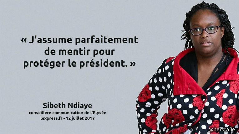 """Les partis d'opposition estiment que la nomination de Sibeth Ndiaye, une «menteuse professionnelle», est une""""provocation"""""""
