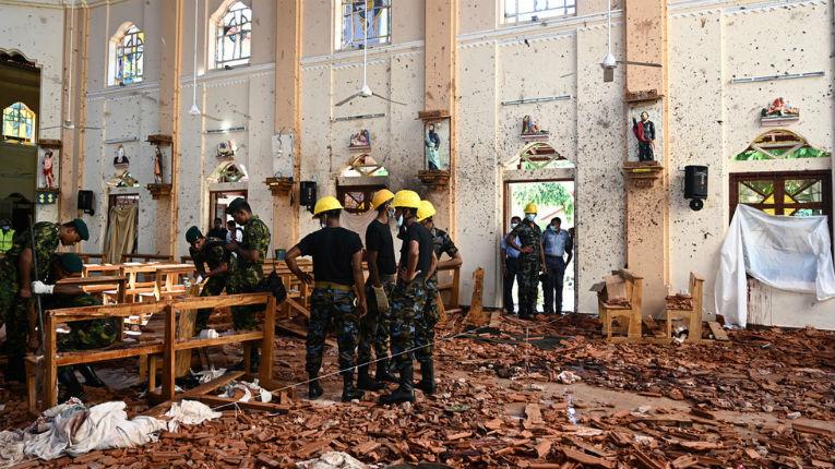 attentats Sri Lanka