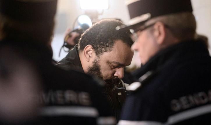 Dix-huit mois de prison ferme requis contre Dieudonné, jugé pour abus de biens sociaux, fraude fiscale ou encore blanchiment