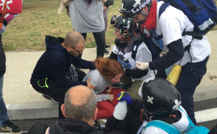 Au Boulou, une enfant suffoque à cause du gaz lacrymogène lors de l'acte 21 (Vidéo)