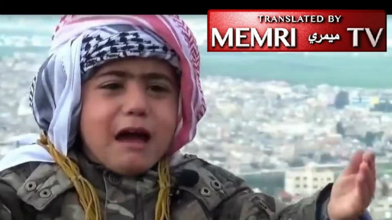 Sur Gaza TV, un petit jordanien veut mourir en martyr pour conquérir Jérusalem… (Vidéo)
