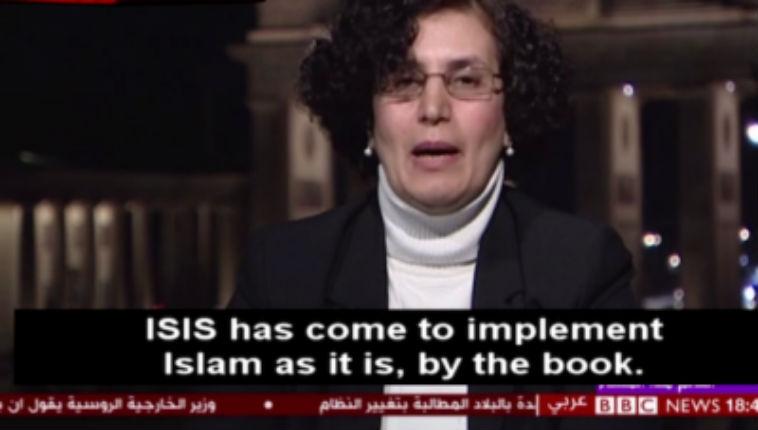 Une historienne arabe : «L'Etat islamique représente l'islam. Ils ont appliqué le véritable islam, sans oublier les filles esclaves, le viol… Nous devons assumer nos responsabilités» (Vidéo)