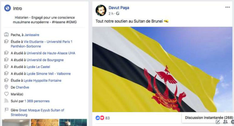 Lapidation des homosexuels: L'imam de la Grande Mosquée de Strasbourg soutient Brunei. Les réseaux islamistes turcs à l'assaut de l'Europe